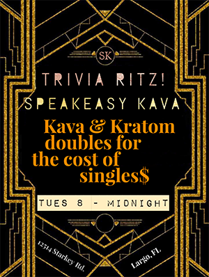trivia tuesday speakeasy kava